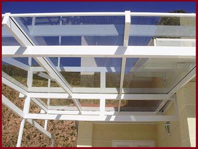 Fabricação de Coberturas de Vidro Laminado